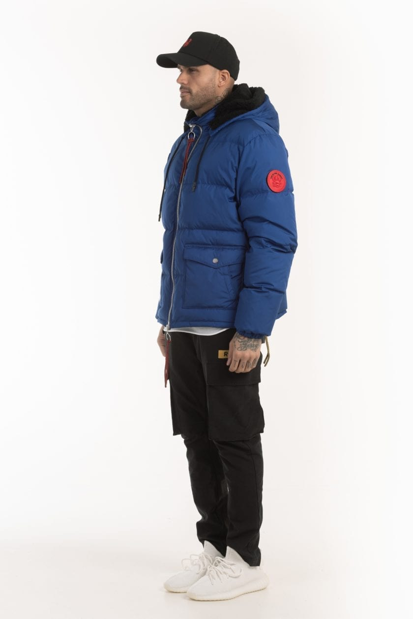 SAINT PUFFER DOWN JACKET BLUE