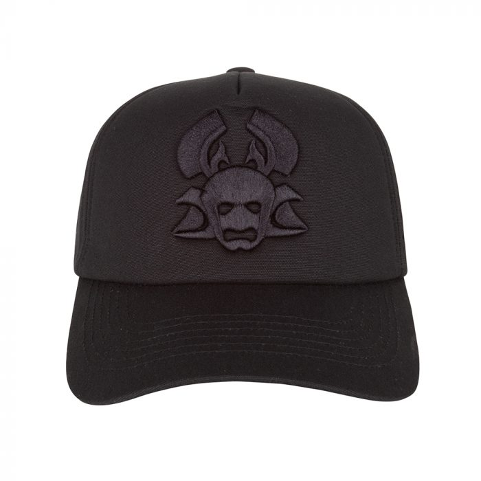 Yuu Cap Black Logo Once We Were Warriors