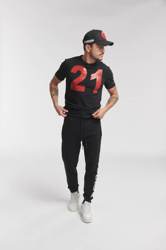 alto sweat jogger black pants