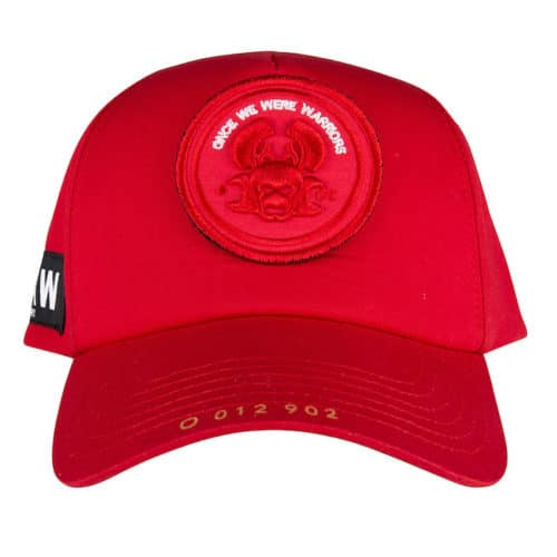 O CAP regular red once we were warriors o3w