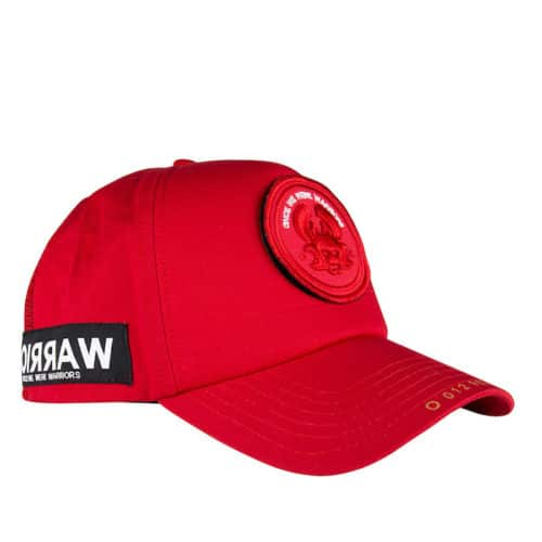O CAP MASK REGULAR RED ONCE WE WERE WARRIORS O3W