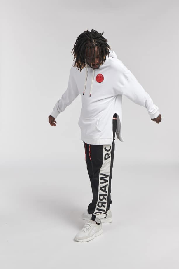 SON HOODIE WHITE O3W ONCE WE WERE WARRIORS