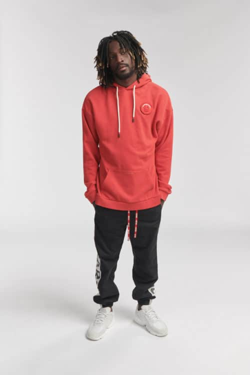 SON HOODIE RED O3W ONCE WE WERE WARRIORS