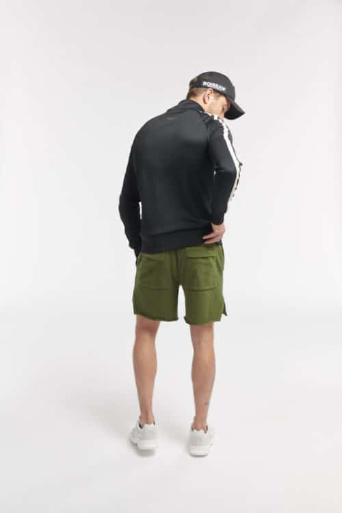 ROBI SWEAT SHORT ARMY GREEN O3W ONCE WE WERE WARRIORS