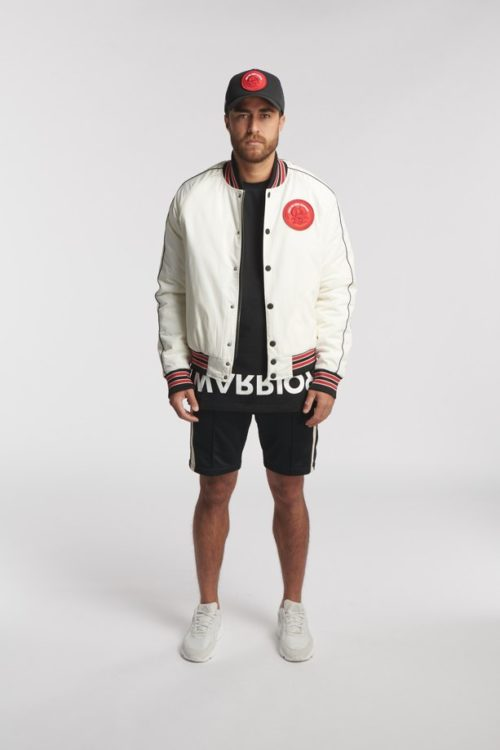 MOAKI BASKETBALL JACKET OFF WHITE O3W ONCE WE WERE WARRIORS