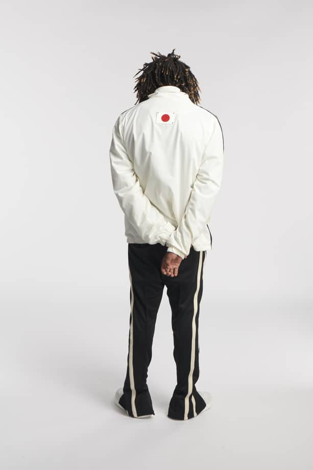 MONO ANORAK JACKET WHITE O3W ONCE WE WERE WARRIORS