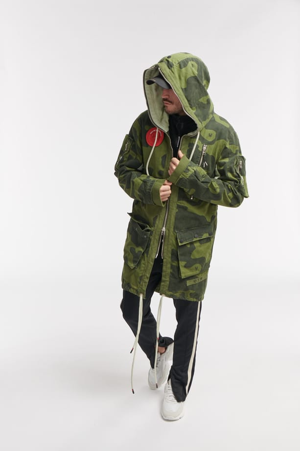 RODI CAMO PARKA JACK Camo army o3w once we were warriors