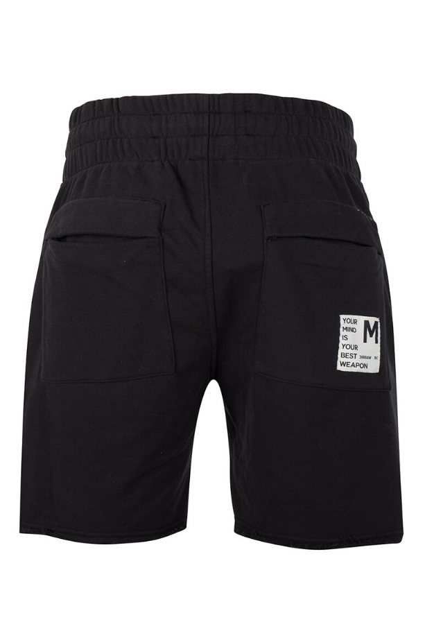 BORI_SWEAT_SHORTS_ONCEWEWEREWARRIORS_BLACK