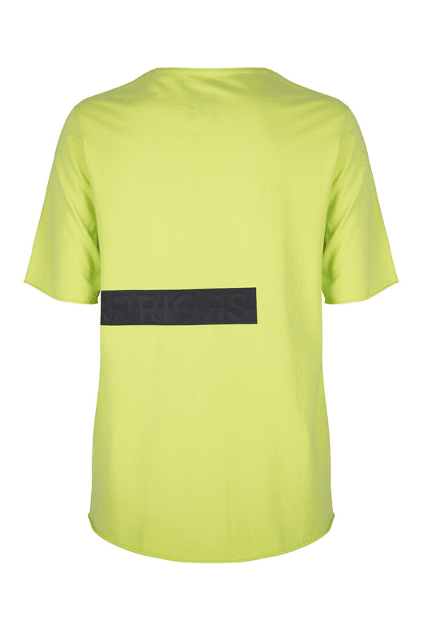 KONINI_SS_TEE_ONCEWEWEREWARRIORS_ANTIQUE_ACID_LIME