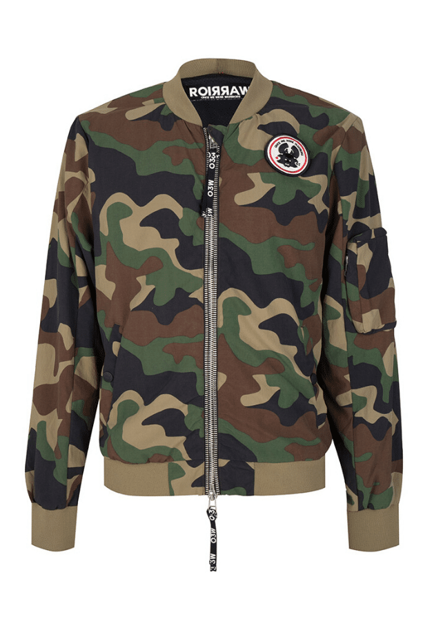 RAVI_BOMBER_JACKET_LIGHT_WEIGHT_ONCEWEWEREWARRIORS_CAMO_ARMY