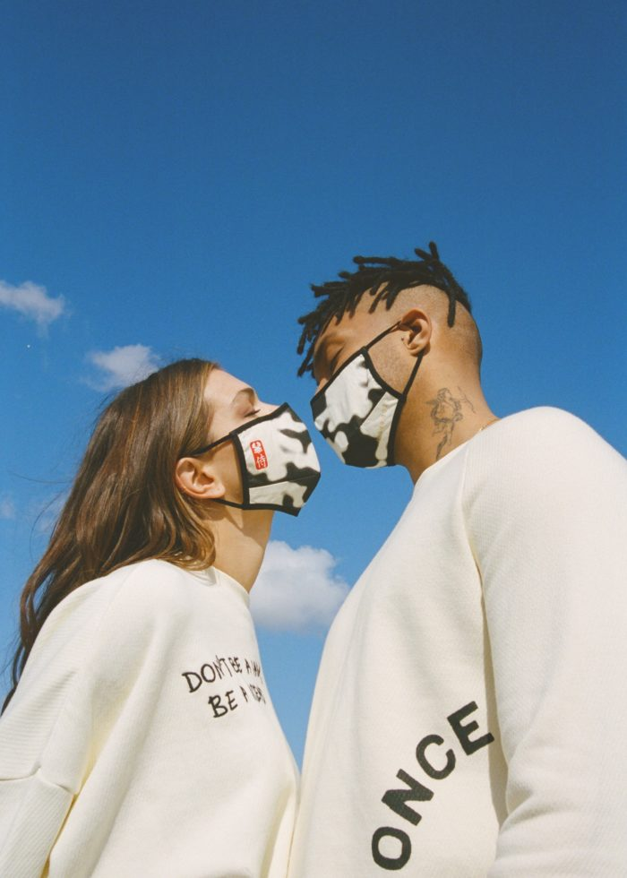face cover Once We Were Warriors OFF WHITE camo O3W
