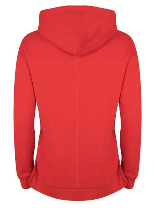 sonini hoodie fiery red once we were warriors