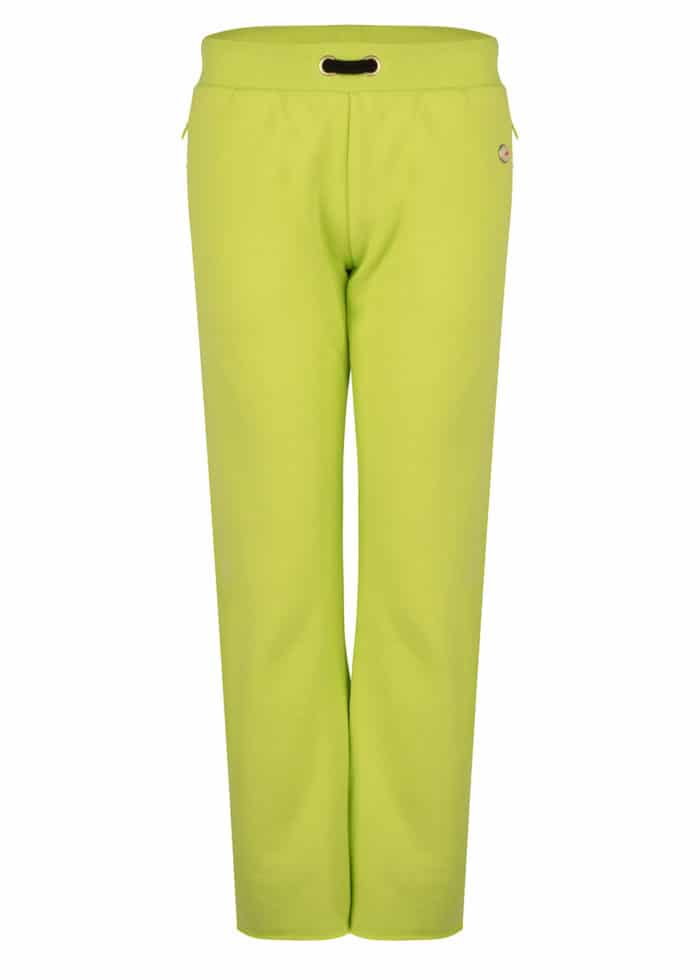 HANA FLARED JOGGER ACID LIME CROPPED FIT