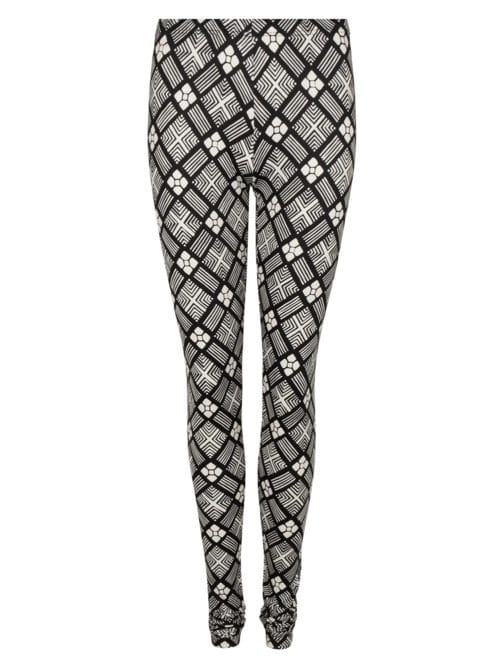 MAO LEGGING PRINT BLACK