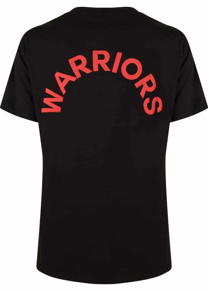 ARATA TEE T-SHIRT BLACK ONCE WE WERE WARRIORS