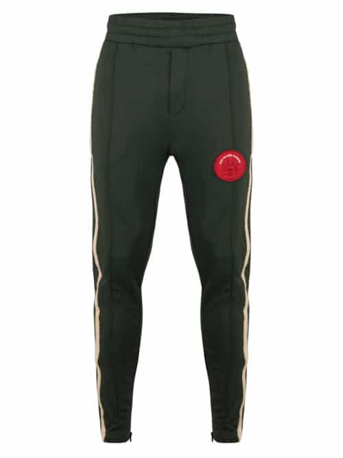 WESK4 TRACK PANTS DARK GREEN ONCE WE WERE WARRIORS