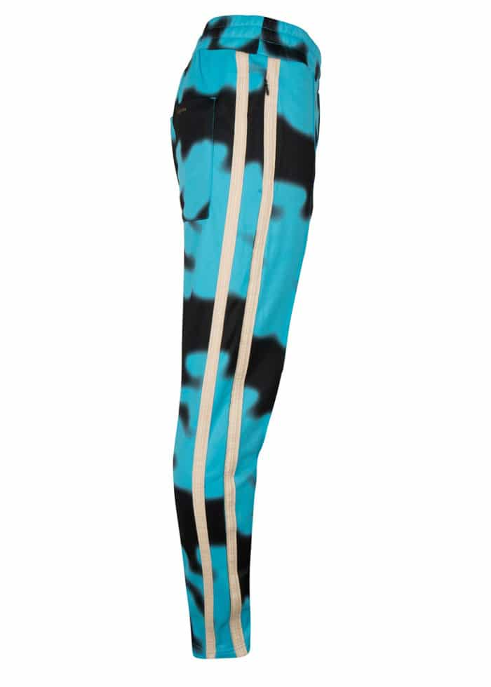 Jada Track Pants AQUA ONCE WE WERE WARRIORS