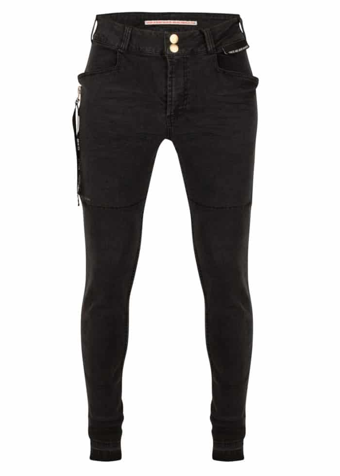 SHUUTO BLCK DENIM SKINNY BLACK ONCE WE WERE WARRIORS