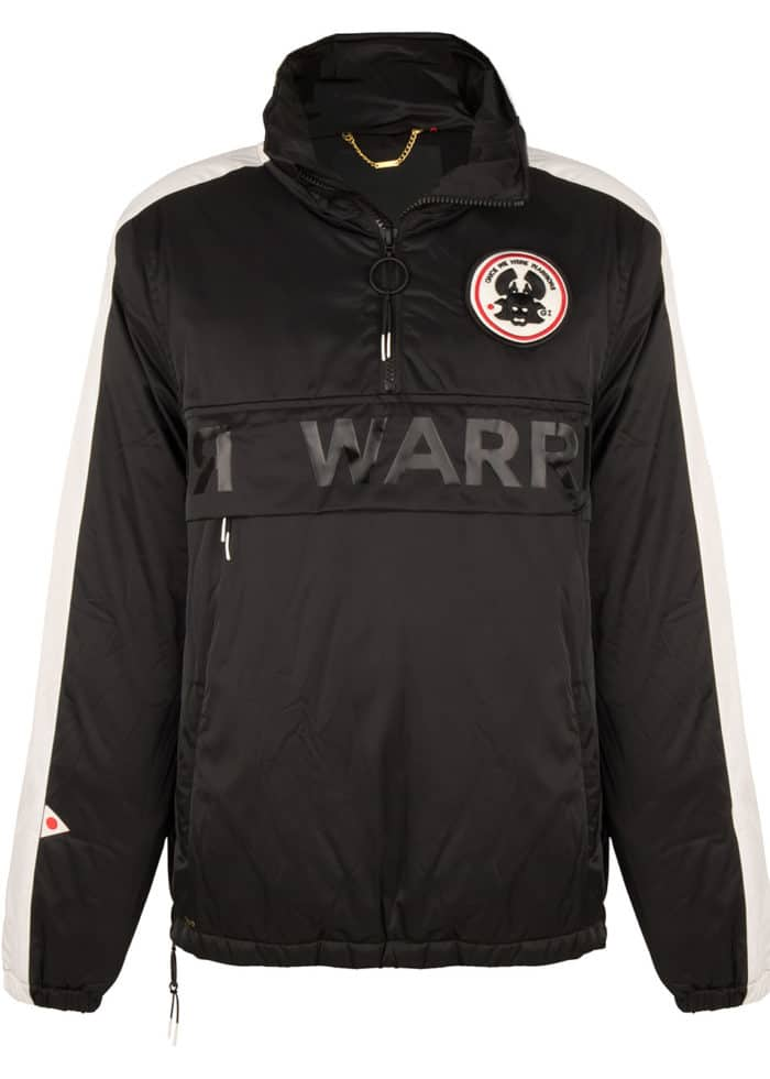MONO2 ANORAK JACKET BLACK ONCE WE WERE WARRIORS