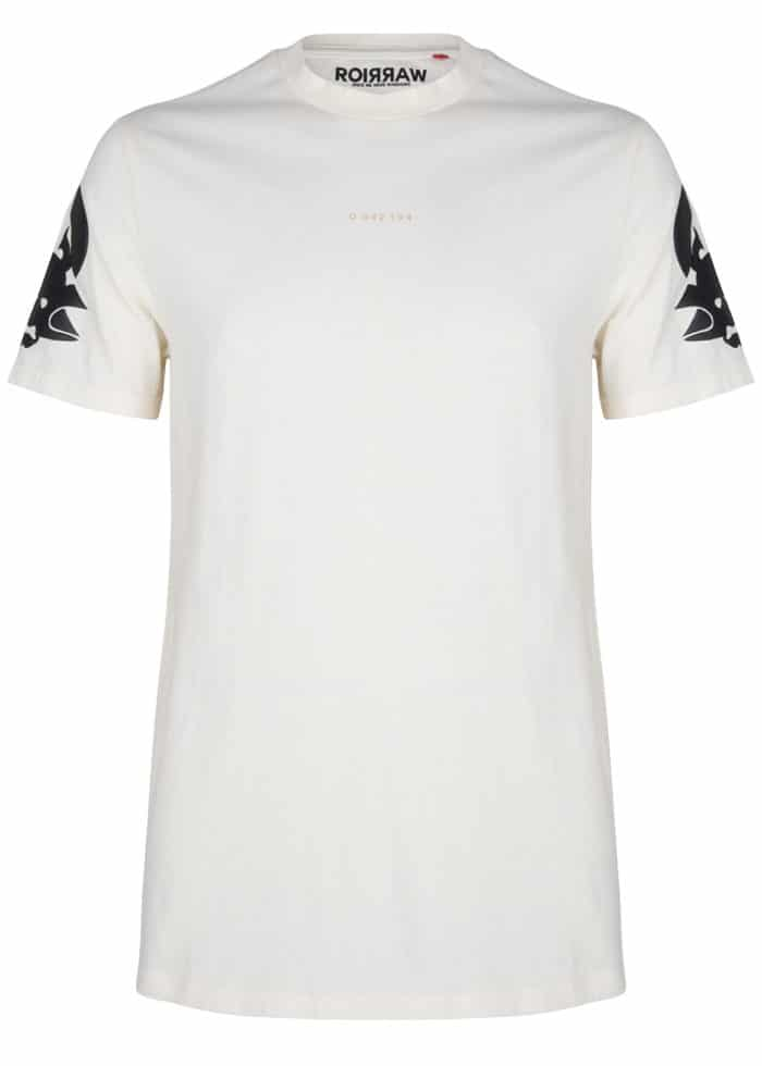 rai tee antique white t-shirt once we were warriors