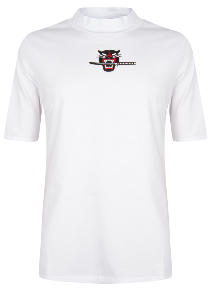 chi tee white once we were warriors O3W