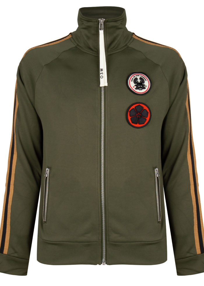AYOKI TRACK JACKET TROOPER ONCE WE WERE WARRIORS O3W