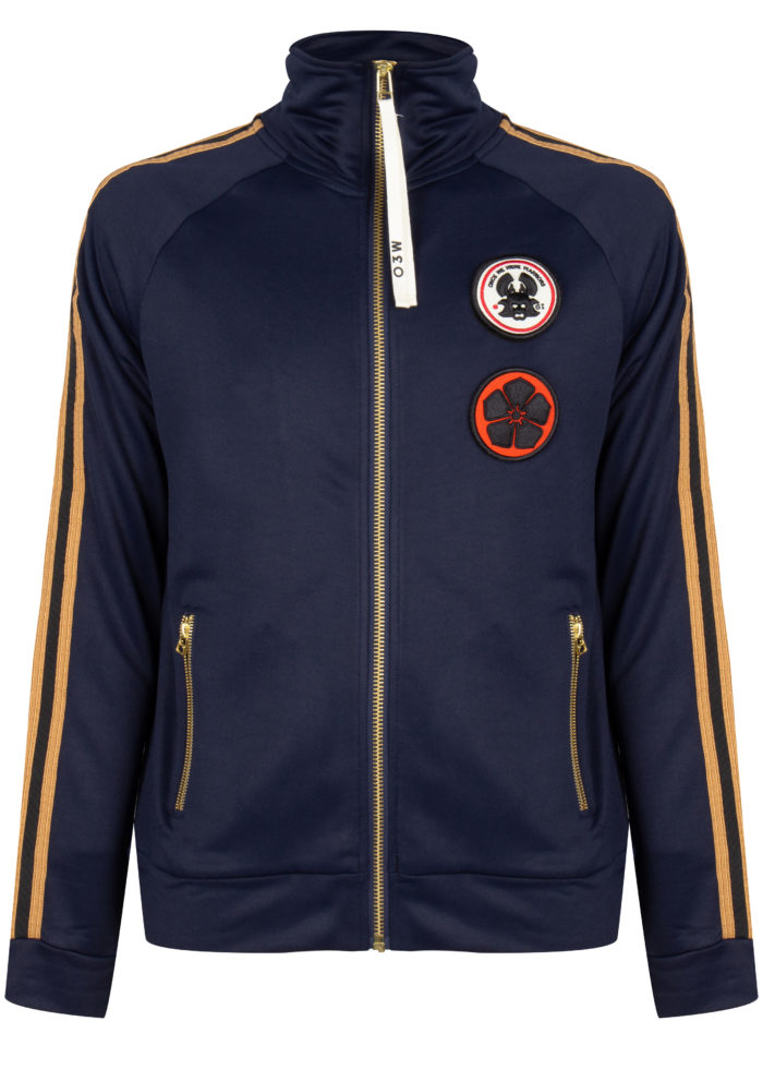 AYOKI TRACK JACKET DARK INDIGO ONCE WE WERE WARRIORS O3W