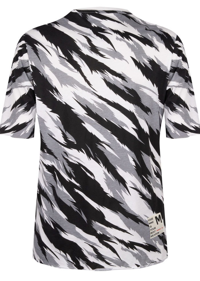 AKECHI TEE CAMO TIGER WHITE O3W ONCE WE WERE WARRIORS