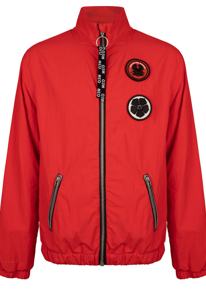 SHI BUI TRACK JACKET FIERY RED O3W ONCE WE WERE WARRIORS